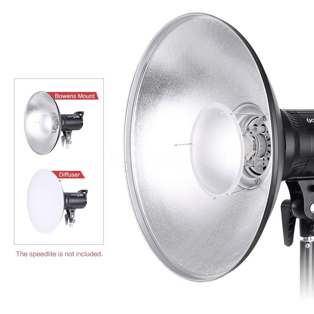 Studio Lighting Diffuser: 41CM Bowens Mount B Eauty Dish Removable Studio Diffuser