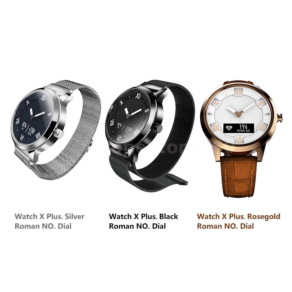 55779fcc6 Lenovo Watch X Plus Mechanical-electronic integrated smart watch 8ATM  Waterproof Luminous Pointer Fitness Tracker Intelligent Pedometer Calorie  Calls ...