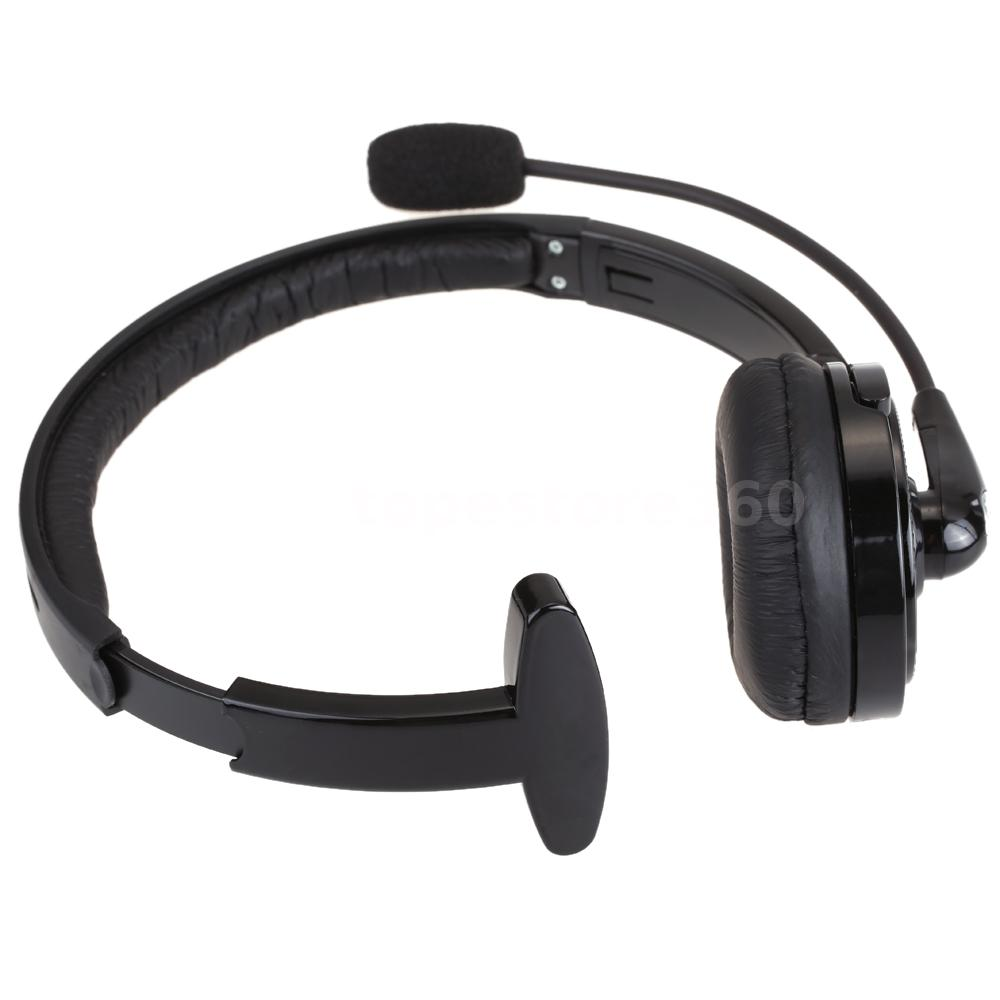 mono bluetooth headset handfree with mic for smart phone truck driver ps3 ni28 ebay. Black Bedroom Furniture Sets. Home Design Ideas